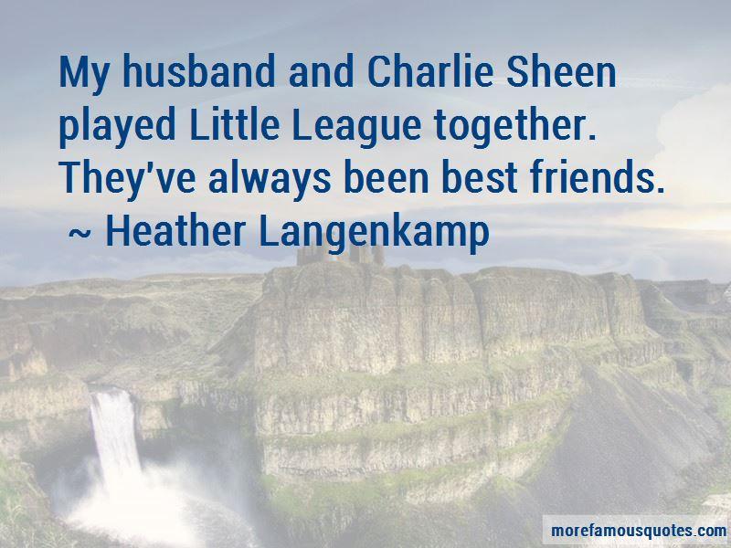 Heather Langenkamp Quotes