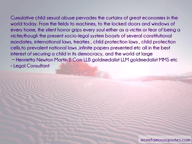 Henrietta Newton Martin B.Com LLB Goldmedalist LLM Goldmedalist MMS Etc - Legal Consultant Quotes Pictures 2