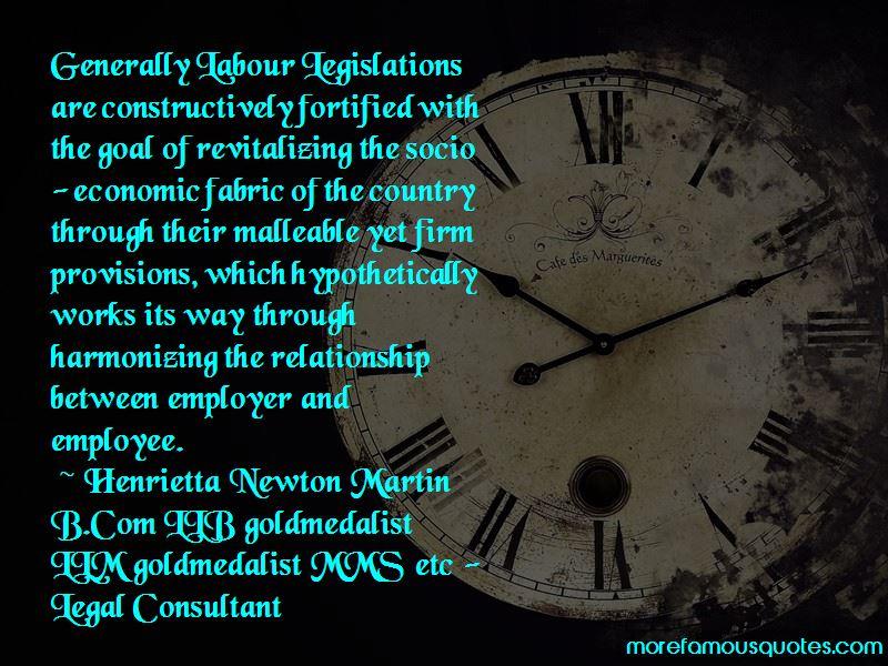 Henrietta Newton Martin B.Com LLB Goldmedalist LLM Goldmedalist MMS Etc - Legal Consultant Quotes Pictures 3
