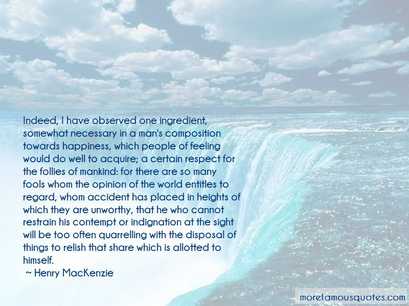 Henry MacKenzie Quotes Pictures 4
