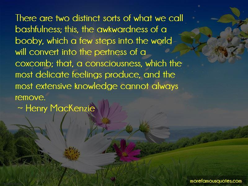 Henry MacKenzie Quotes