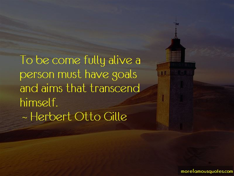 Herbert Otto Gille Quotes Pictures 3