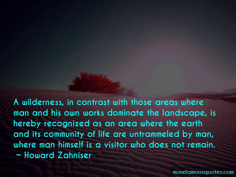 Howard Zahniser Quotes Pictures 3