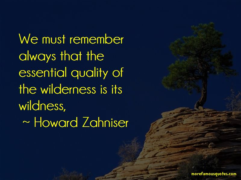 Howard Zahniser Quotes Pictures 4