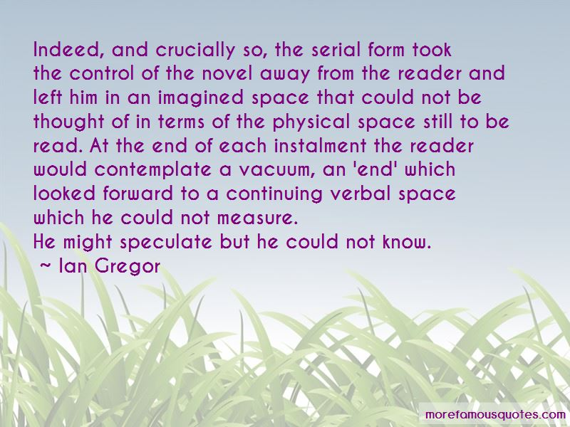 Ian Gregor Quotes Pictures 4