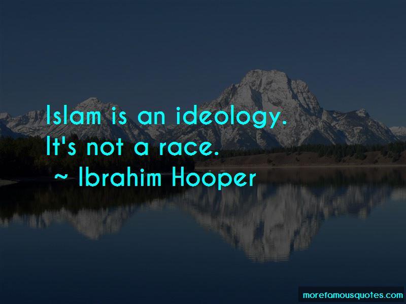Ibrahim Hooper Quotes