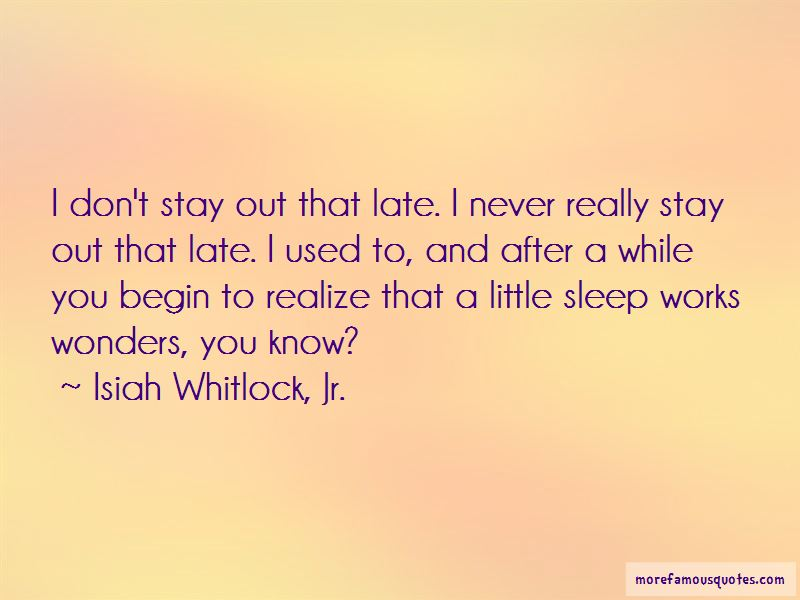 Isiah Whitlock, Jr. Quotes Pictures 4