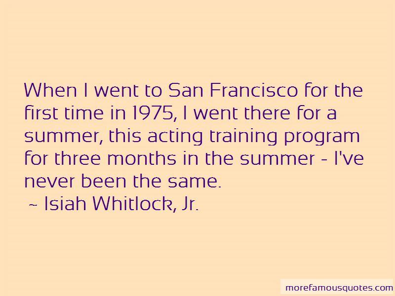 Isiah Whitlock, Jr. Quotes