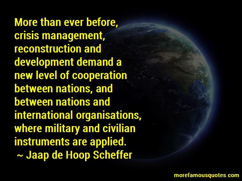 Jaap De Hoop Scheffer Quotes Pictures 3