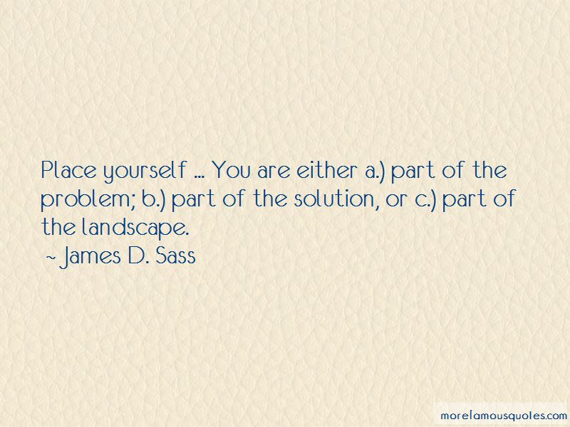 James D. Sass Quotes Pictures 4