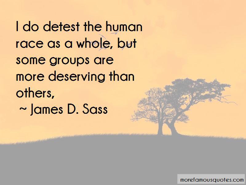James D. Sass Quotes