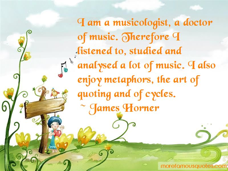 James Horner Quotes Pictures 2