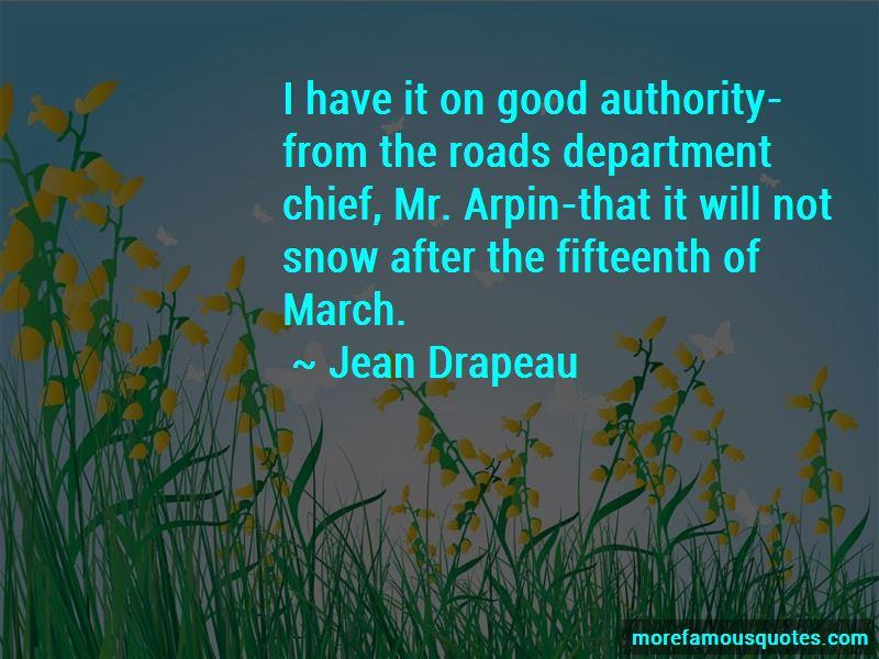 Jean Drapeau Quotes