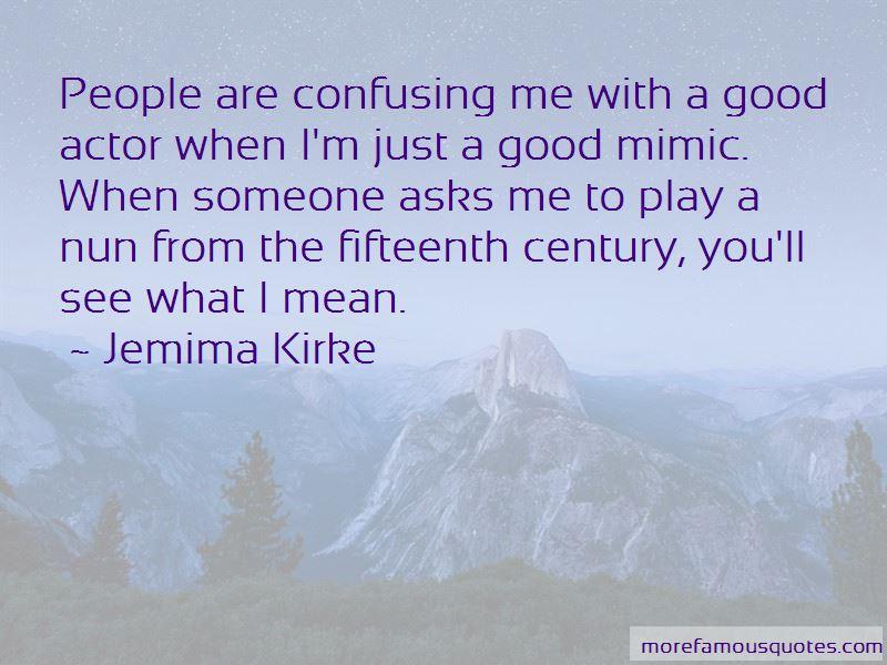 Jemima Kirke Quotes
