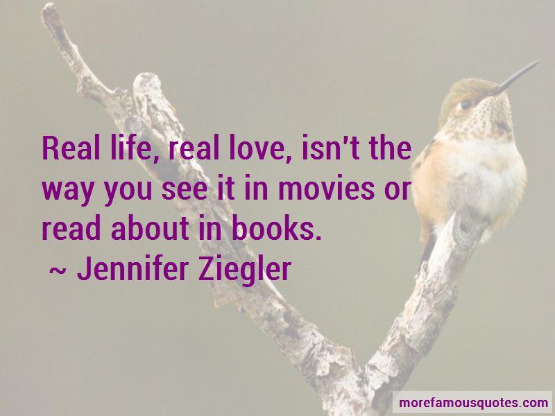 Jennifer Ziegler Quotes Pictures 2