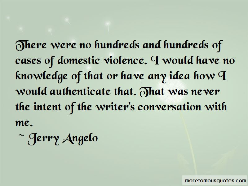 Jerry Angelo Quotes Pictures 2