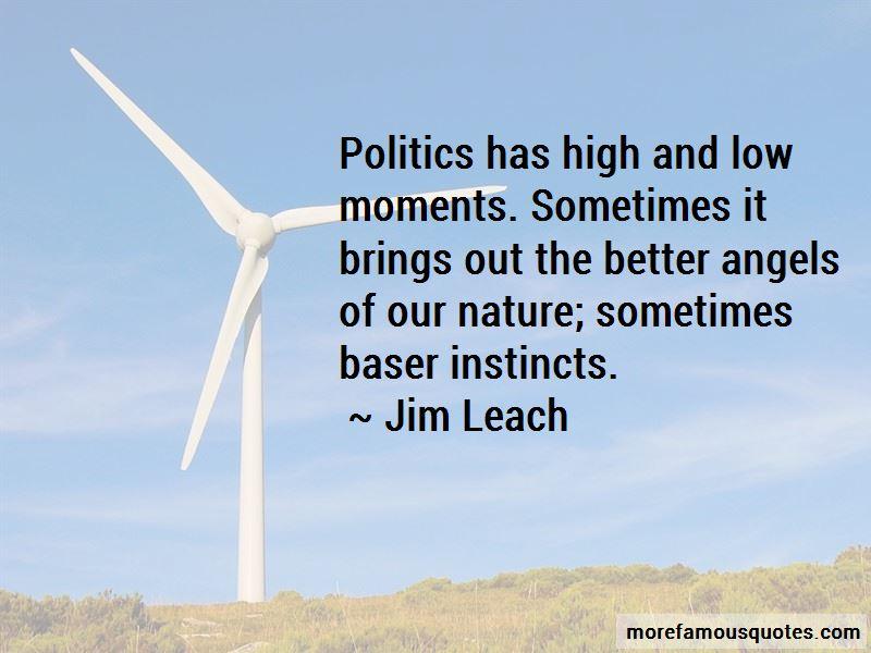 Jim Leach Quotes