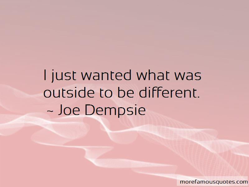 Joe Dempsie Quotes