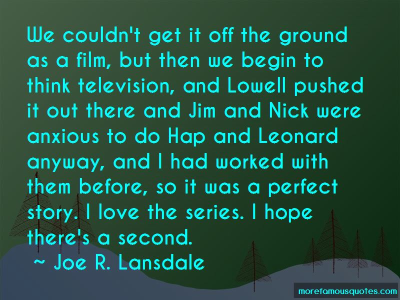 Joe R. Lansdale Quotes Pictures 2