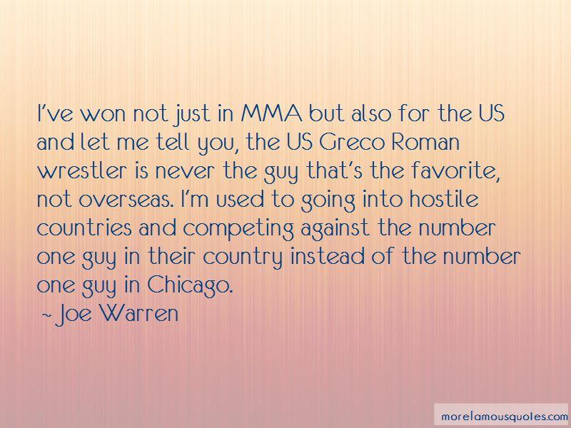 Joe Warren Quotes Pictures 4