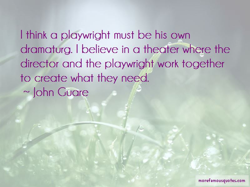 John Guare Quotes Pictures 3