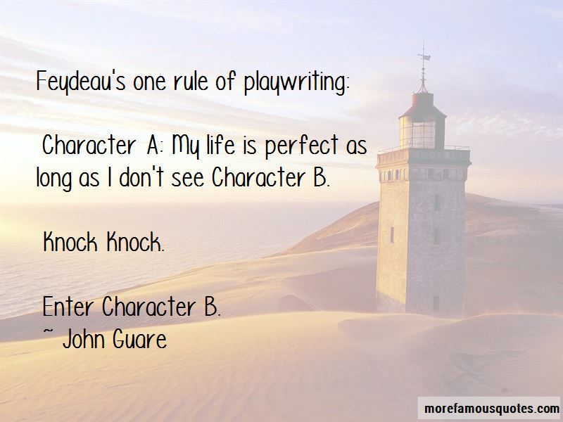 John Guare Quotes