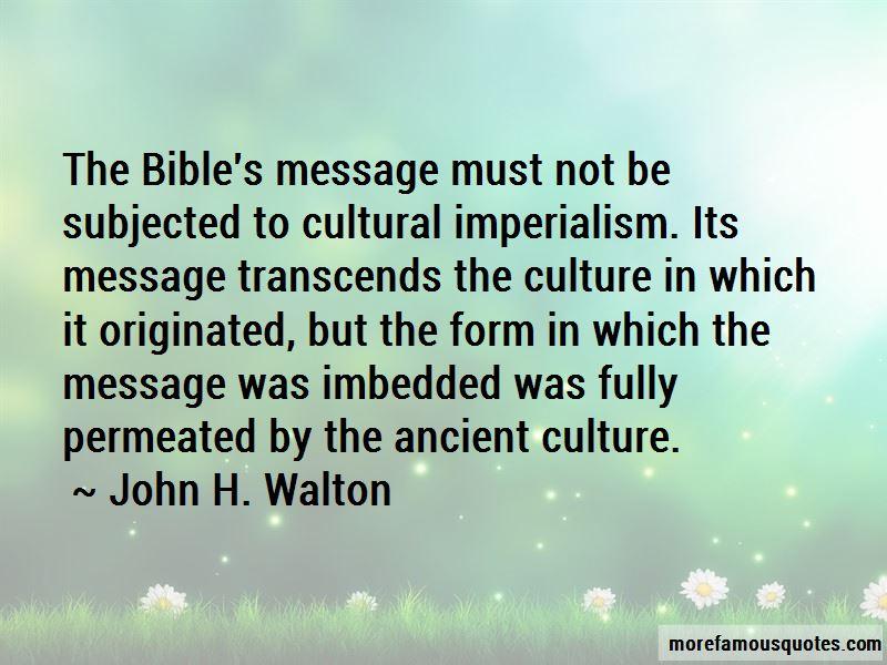 John H. Walton Quotes Pictures 3