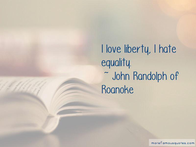 John Randolph Of Roanoke Quotes