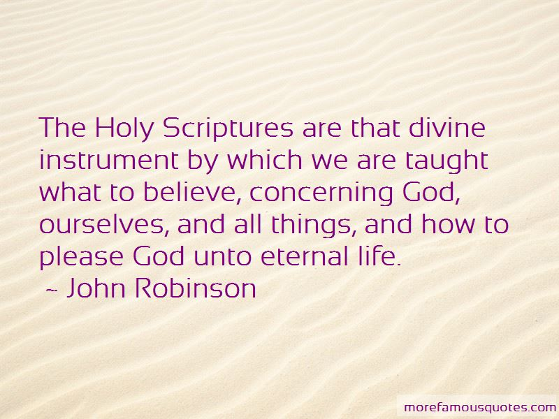 John Robinson Quotes