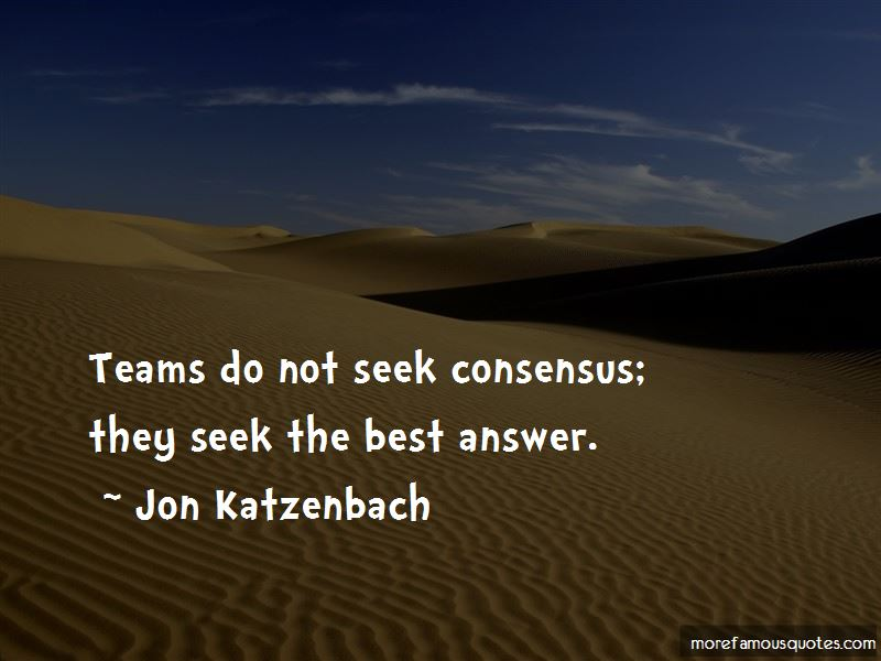 Jon Katzenbach Quotes