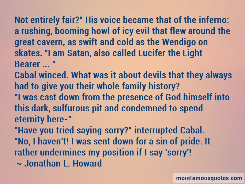 Jonathan L. Howard Quotes Pictures 3