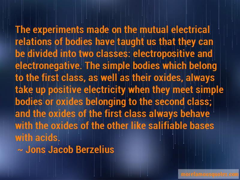 Jons Jacob Berzelius Quotes Pictures 2