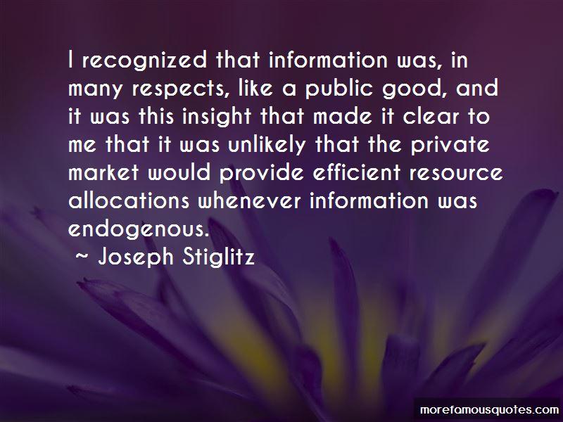 Joseph Stiglitz Quotes Pictures 3