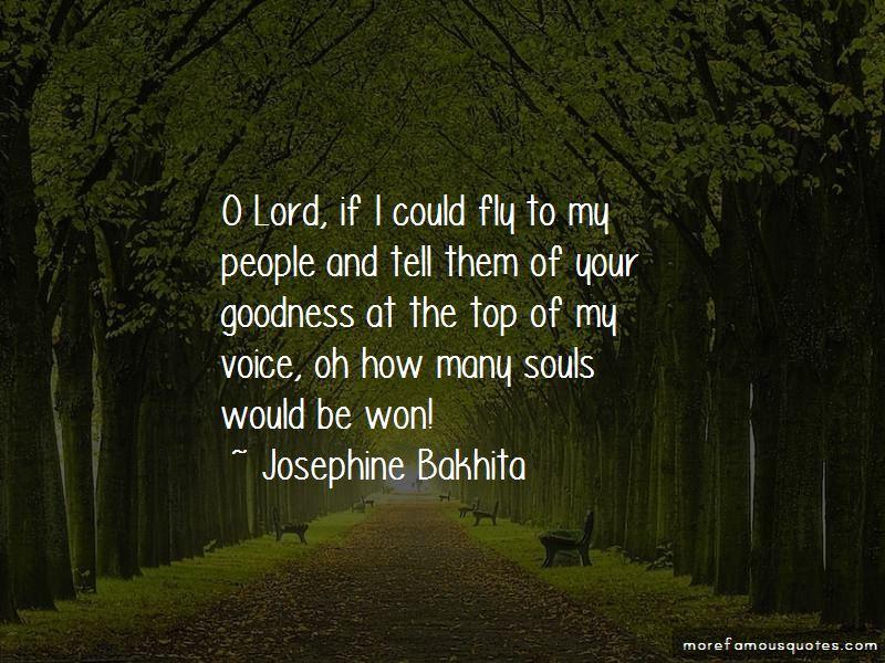 Josephine Bakhita Quotes