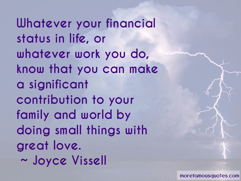 Joyce Vissell Quotes Pictures 2