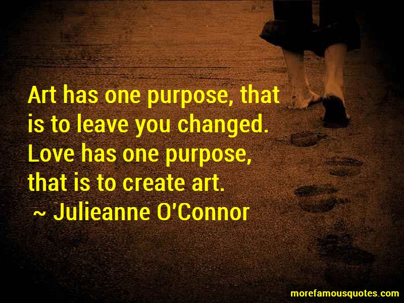 Julieanne O'Connor Quotes