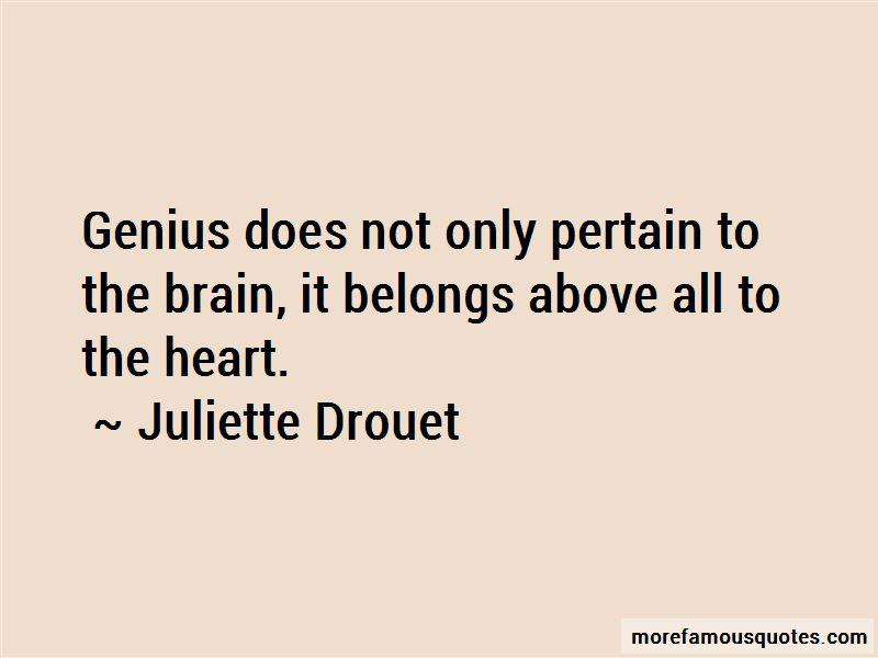 Juliette Drouet Quotes