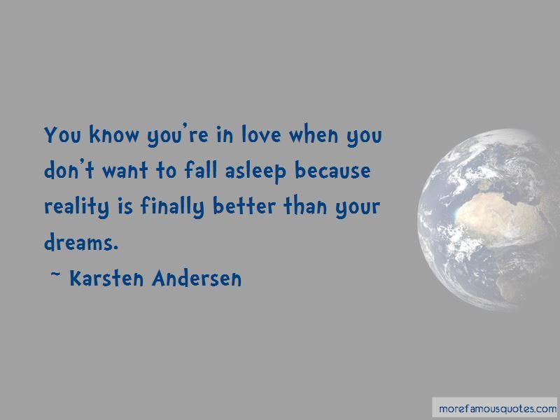 Karsten Andersen Quotes