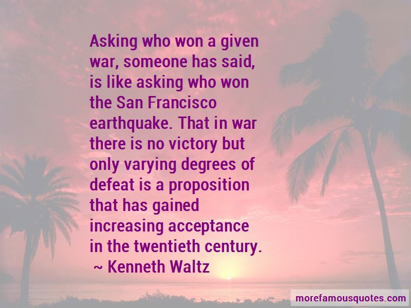 Kenneth Waltz Quotes Pictures 2