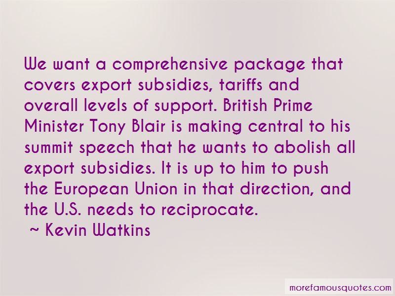 Kevin Watkins Quotes