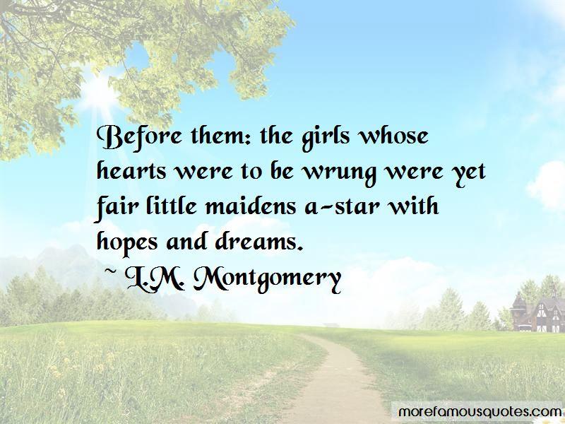 L.M. Montgomery Quotes Pictures 3
