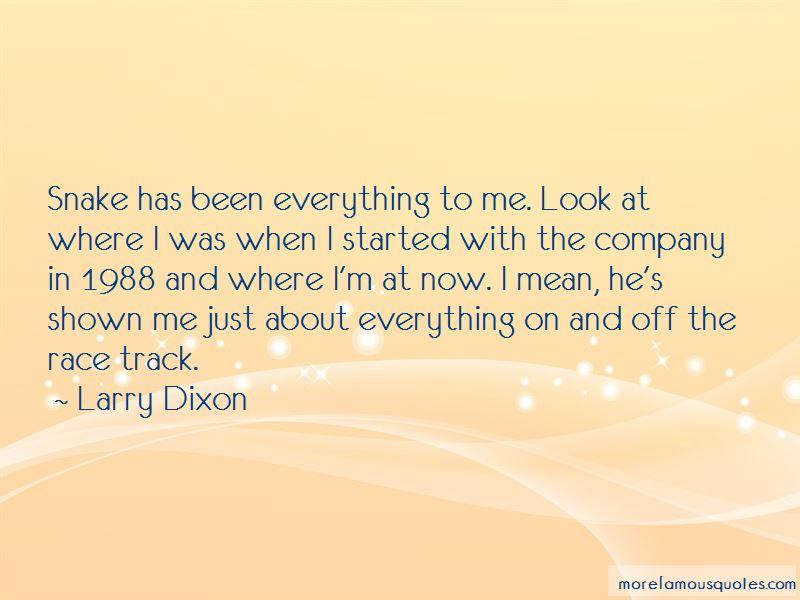 Larry Dixon Quotes