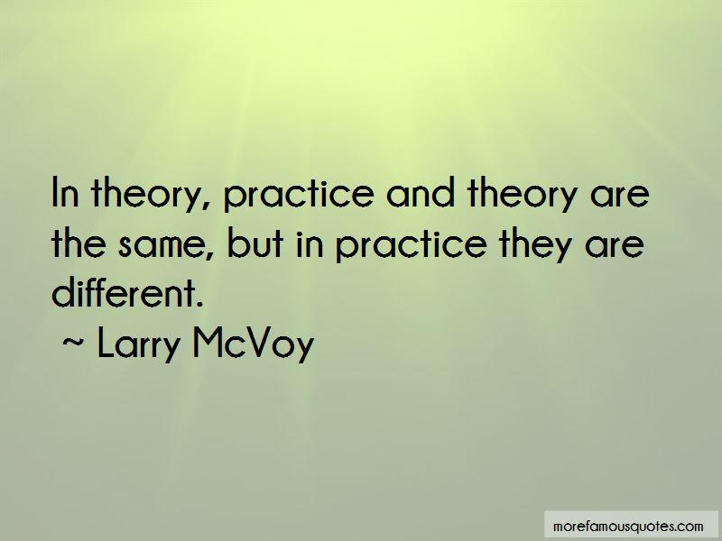 Larry McVoy Quotes