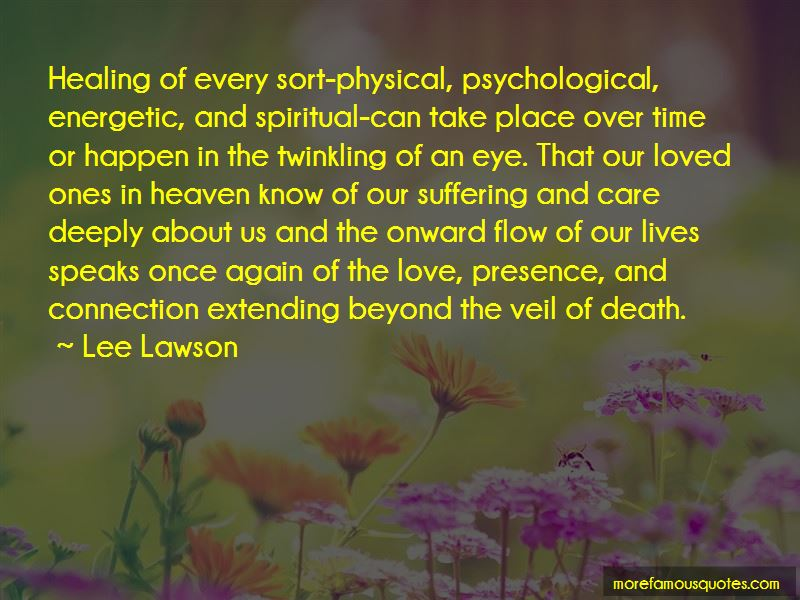 Lee Lawson Quotes