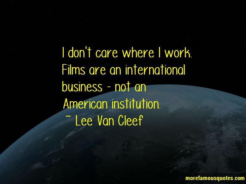 Lee Van Cleef Quotes Pictures 2