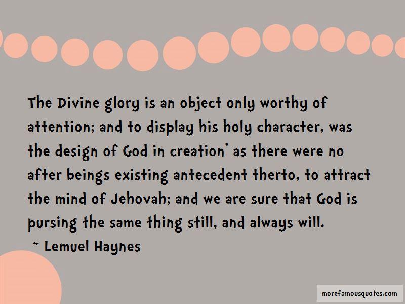Lemuel Haynes Quotes