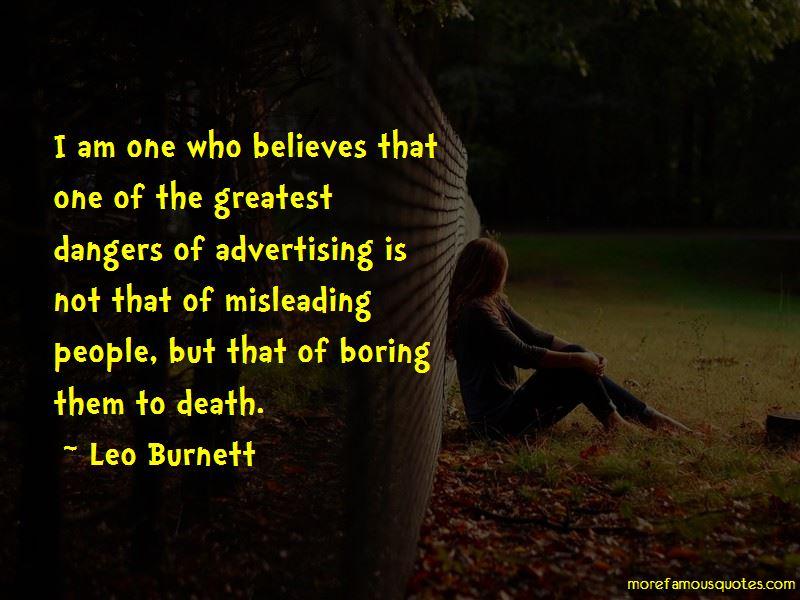 Leo Burnett Quotes Pictures 3