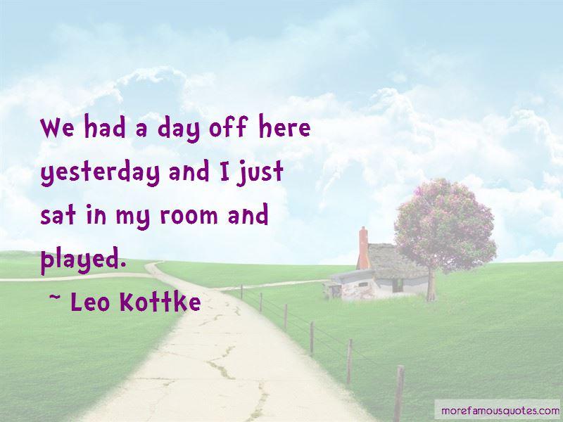 Leo Kottke Quotes Pictures 4