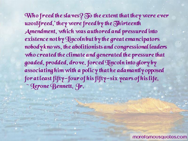 Lerone Bennett, Jr. Quotes