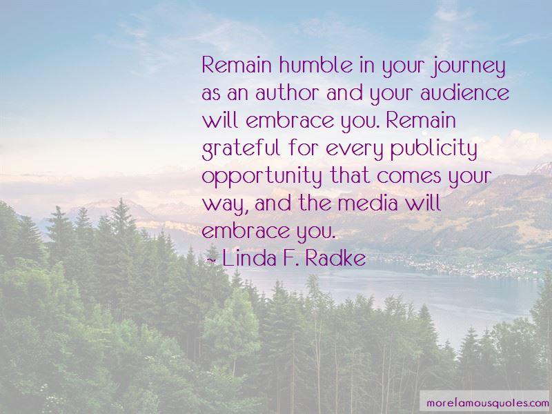 Linda F. Radke Quotes Pictures 2